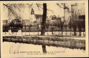 Ak Mehun sur Yevre Cher, Chateau de Charles VII, canal du Berry