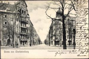 Ak Berlin Charlottenburg, Fasanenstraße, Kurfürstendamm