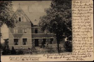 Ak Berlin Pankow Niederschönhausen, Wohnhaus