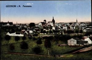 Ak Güstrow in Mecklenburg Vorpommern, Panorama