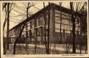 Ak Berlin Zehlendorf Nikolassee, Sanatorium Waldhaus