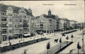 Ak Berlin Charlottenburg, Bismarckstraße