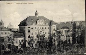 Ak Chemnitz Sachsen, Stadtkrankenhaus