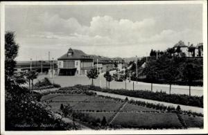Ak Glauchau an der Zwickauer Mulde in Sachsen, Bahnhof