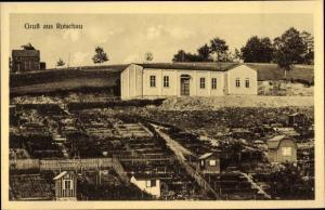 Ak Rotschau Reichenbach im Vogtland, Gärten