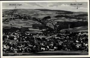 Ak Lauter Bernsbach im Erzgebirge Sachsen, Gesamtansicht