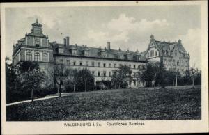 Ak Waldenburg in Sachsen, Fürstl. Seminar