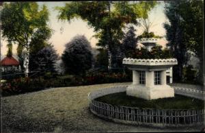 Ak Reichenbach im Vogtland, Stadtpark