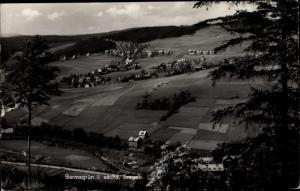 Ak Bermsgrün Schwarzenberg im Erzgebirge Sachsen, Gesamtansicht