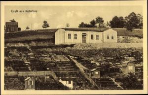 Rotschau Reichenbach im Vogtland, Turnhalle, Turnverein Vorwärts