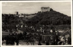Ak Niedernhausen im Taunus Hessen, Gesamtansicht, Schloss Lichtenberg