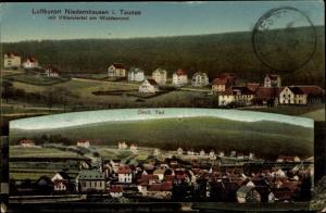 Ak Niedernhausen Rheingau Taunus Kreis, Villenviertel am Waldesrand, Östlicher Teil