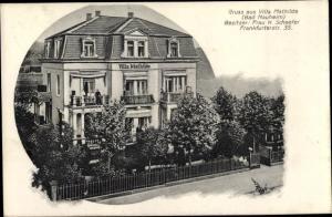 Ak Bad Nauheim im Wetteraukreis Hessen, Villa Mathilde