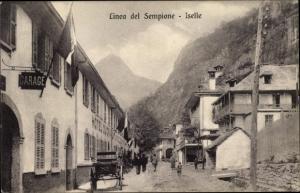 Ak Iselle di Trasquera Piemont, Linea del Sempione, Hotel