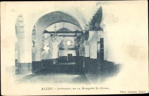 Ak Algier Alger Algerien, Intérieur de la Mosquée El Kebir