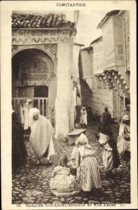 Ak Constantine Algerien, Mosquée Sidi Abdel Moumen et Rue Arabe