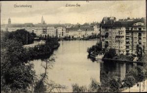 Ak Berlin Charlottenburg, Lietzensee