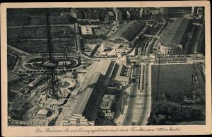 Ak Berlin Charlottenburg Westend, Ausstellungsgelände mit dem Funkturm