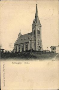 Ak Ostseebad Zinnowitz auf Usedom, Kirche