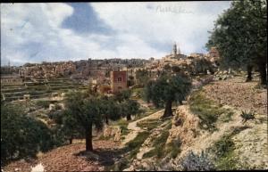 Ak Bethlehem Palästina, Panorama