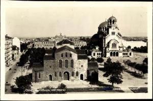 Ak Sofia Bulgarien, Gesamtansicht, orthodoxe Kirche