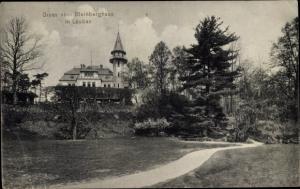Ak Lubań Lauban Schlesien, Steinberghaus