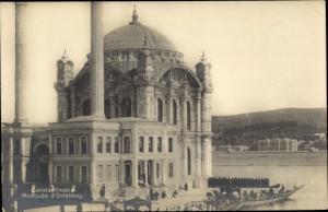 Ak Constantinople Konstantinopel Istanbul Türkei, Mosquee d'Ortakeuy