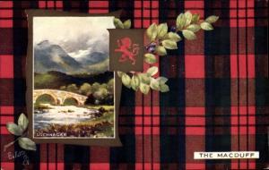 Wappen Passepartout Ak Lochnagar Schottland, The Macduff, Tuck No. 9403