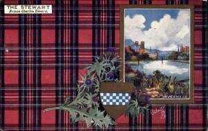 Wappen Passepartout Ak Inverness Schottland, The Stewart, Tuck No. 9403