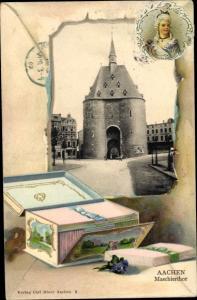 Ak Aachen in Nordrhein Westfalen, Maschierthor, Truhe