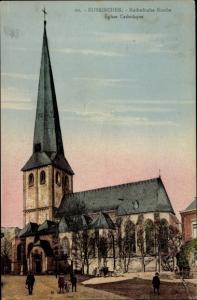 Ak Euskirchen Nordrhein Westfalen, Katholische Kirche, Eglise Catholique