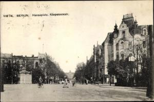 Ak Berlin, Hansaplatz, Klopstockstraße