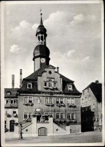 Ak Waldenburg in Sachsen, Rathaus