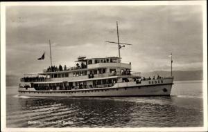 Ak Motorschiff Baden auf dem Bodensee