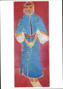 Künstler Ak Matisse, Henri, Marokkanerin