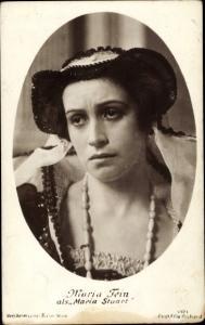 Ak Schauspielerin Maria Fein, Maria Stuart