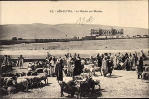 Ak Ain Sefra Algerien, Le Marché aux Moutons