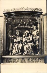 Ak Altar, Frau mit Kind