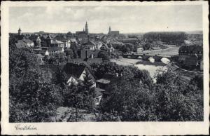 Ak Crailsheim in Baden Württemberg, Blick auf Ort