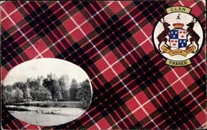 Wappen Passepartout Ak Beauly Highland, Beaufort Castle