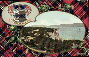 Wappen Passepartout Ak Rothesay Argyll and Bute Schottland, Bay