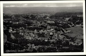 Ak Oberachern Achern Baden Württemberg, Stadtpanorama