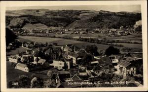 Ak Scheiblingkirchen Thernberg Neunkirchen in Niederösterreich, Panorama vom Ort