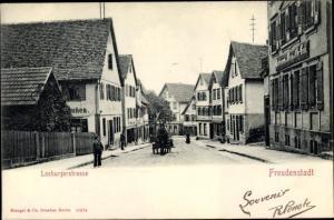 Ak Freudenstadt im Nordschwarzwald, Losburger Straße