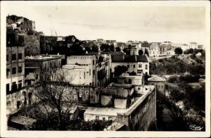 Ak Mostaganem Algerien, Bas quartiers et Avenue Royal