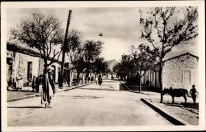 Ak Akbou Algerien, Rue de Chelatta