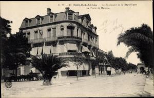 Ak Sidi Bel Abbès Algerien, Le Boulevard de la République, La Porte de Mascara