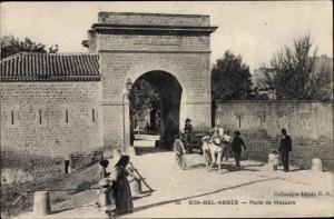Ak Sidi Bel Abbès Algerien, Porte de Mascara