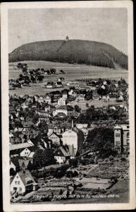 Ak Vejprty Weipert Region Aussig, Ortspartie, Bärenstein