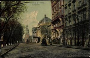 Ak Hamburg Mitte St. Georg, Kirchenallee